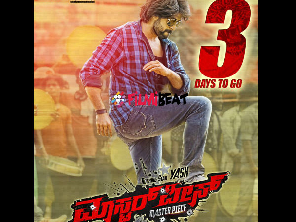 Yash In Upcoming Movie Masterpiece