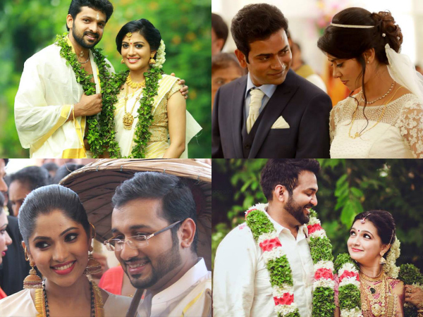 Malayalam Cinema Celebrity Weddings