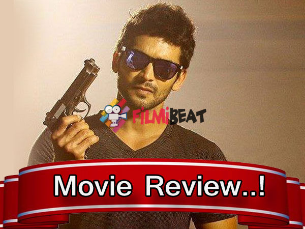 Diganth's 25th Movie Sharp Shooter Movie Review  Rating 2 5/5