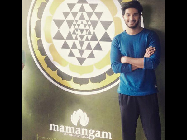 Dulquer Salmaan Learns Dance From Rima Kallingal's Mamangam?