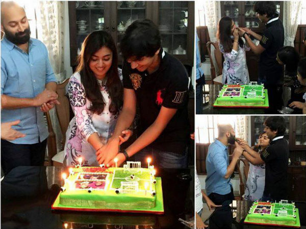 Nazriya Nazim Celebrates Birthday With Hubby Fahadh Faasil & Brother Naveen