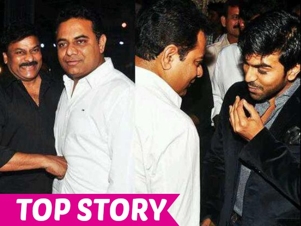 Reason Behind KTR's Closeness With Ram Charan & Other Heroes