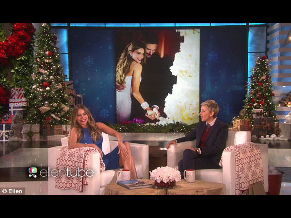 Sofia Vergara Talks Her 'Perfect' Wedding On Ellen DeGeneres Show!