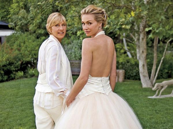 Ellen DeGenere And Portia De Rossi Aren't Getting Divorced
