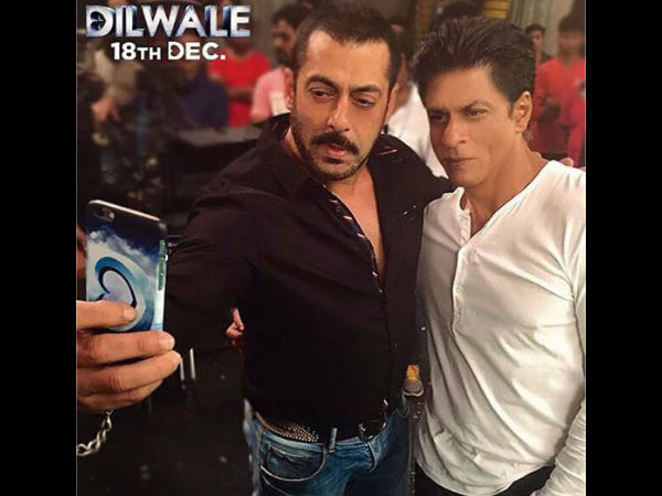 When Salman Khan Taught Shahrukh Khan, How To Take A Selfie