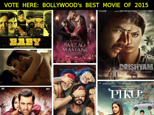 Best Bollywood Movies Of 2015 Vote