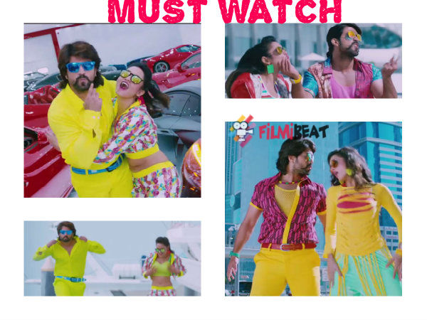Yash And Shanvi Srivastava In Masterpiece