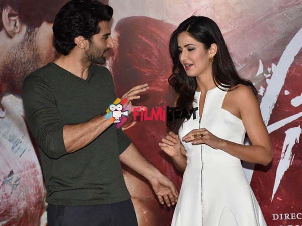 Aditya With Katrina