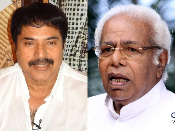 Thilakan-Mammootty Verbal Fight