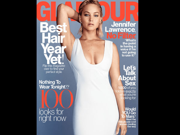 Jennifer Lawrence: 'Officially A Virgin & A F***ing Lunatic'!