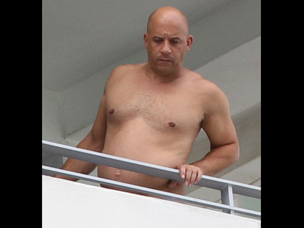 WOW! Vin Diesel Slams The Body-Shaming Critics By Posting This Selfie!