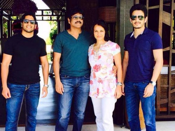 Nagarjuna Owes A Hit To His Sons