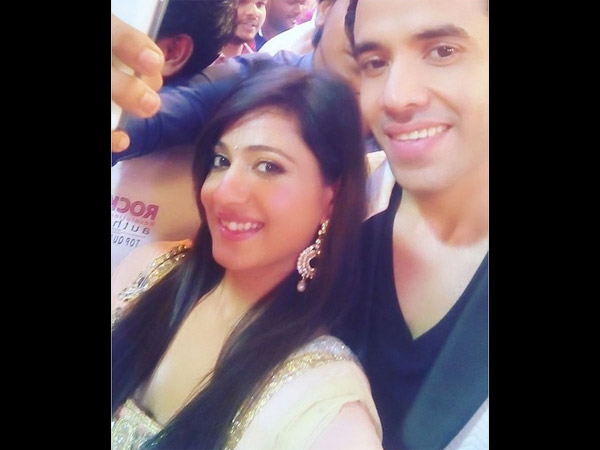 Akanksha Snapped With Tusshar