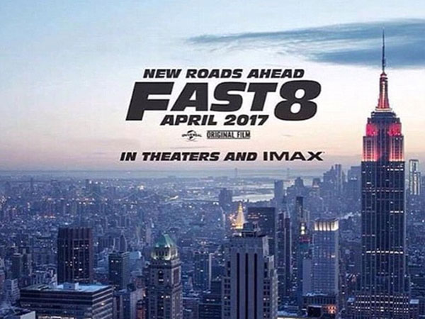 Vin Diesel Shares The First Poster Of Fast 8! Movie To Hit The Theaters Soon