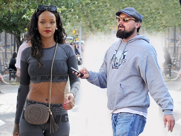 Rihanna & Leonardo DiCaprio 'Hooking Up': Seen Kissing 'Passionately' In Paris!
