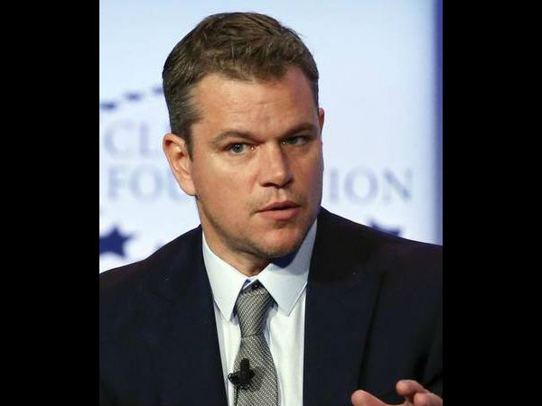 Matt Damon Talks Oscars & Addresses Diversity Issue In Hollywood