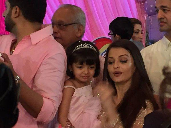 Aish Talks About Daughter