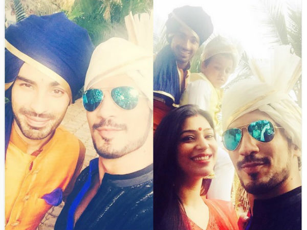 Arjun & Neha With Groom
