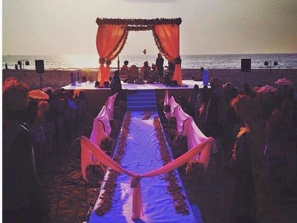 Monaya's Beach Wedding