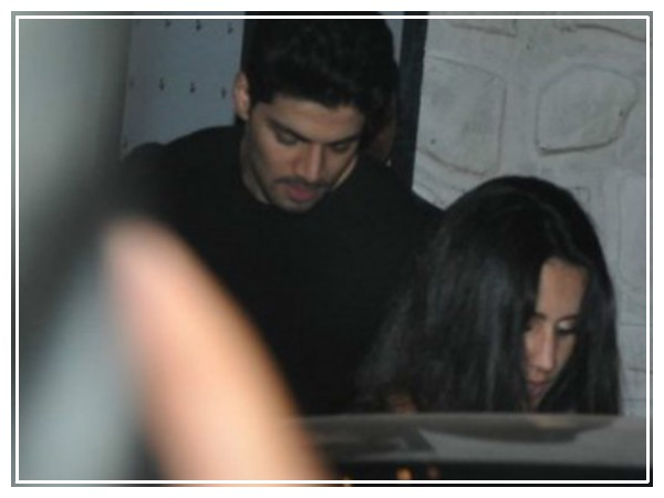 Sooraj With Mystery Girl