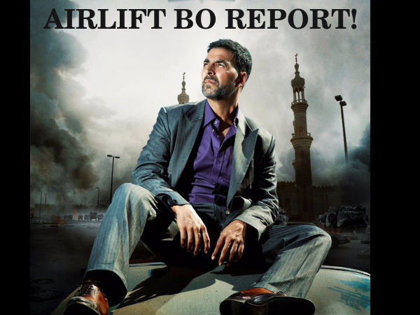 Akshay Kumar's Airlift Box-Office Collections
