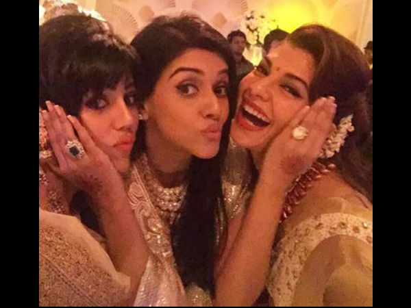 Jacqueline Fernandez's HOT Moves At Asin's Reception Party