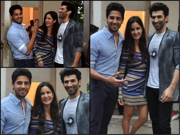 Katrina Kaif Hangs Out With Sidharth Malhotra & Aditya Roy Kapoor