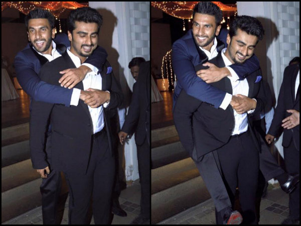 Ranveer-Arjun Get Goofy With Each Other