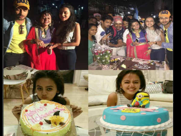Here Is How Swaragini's Swara Aka Helly Shah Celebrated Her Birthday... PICS