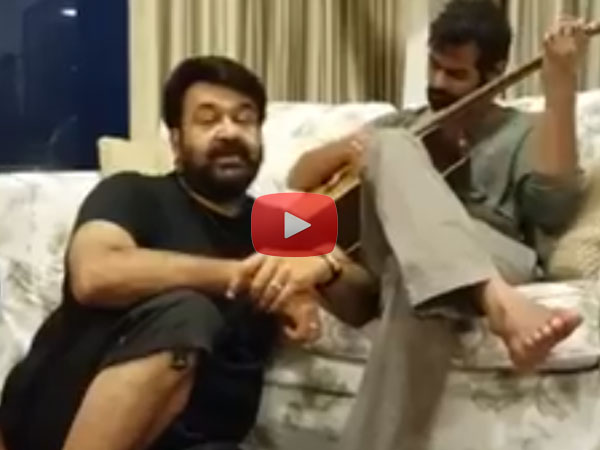 Mohanlal & Pranav Mohanlal's Special New Year Wishes