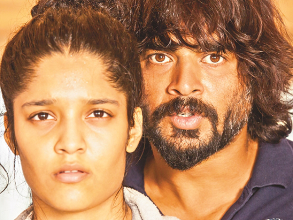 Ritika Singh And Madhavan In Irudhi Suttru