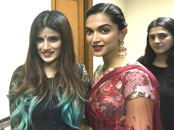 Deepika Padukone Attends Friend's Wedding Sangeet