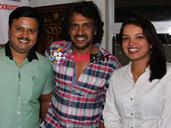 Upendra Lauds Team First Rank Raju