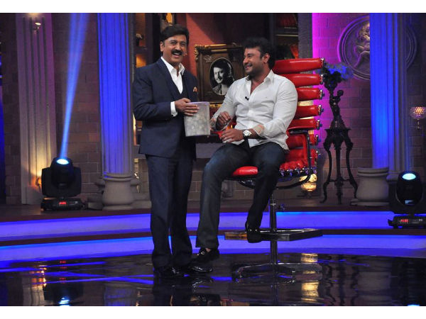LOL! Darshan Mimic A Cartoon Character On Weekend With Ramesh