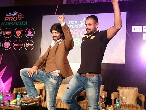 Watch Rocking Star Yash's Promotional Song For Pro Kabaddi Season 3