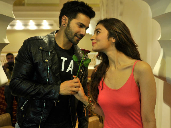 SHOOTING TIME! Alia Bhatt shares a candid picture with Varun Dhawan from the sets of Badrinath Ki Dulhania