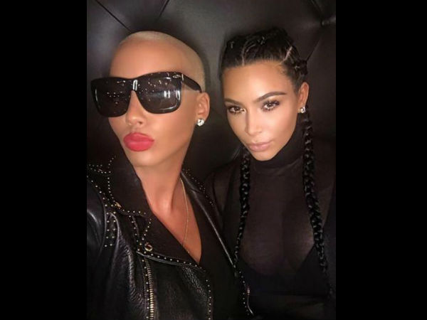 Kanye West & Wiz Khalifa's Twitter Feud Settled After Kim & Rose Met Up For Tea!
