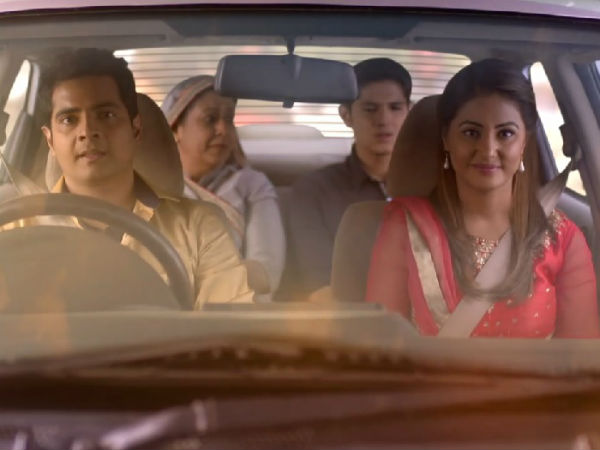 Naksh With His Family