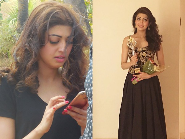 Here Is What Pranitha Subash Did Post Her Car Accident