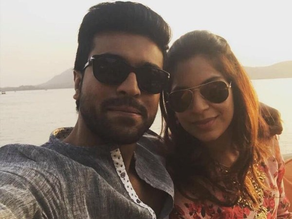 Rare & Adorable Pictures Of Ram Charan And Upasana Kamineni