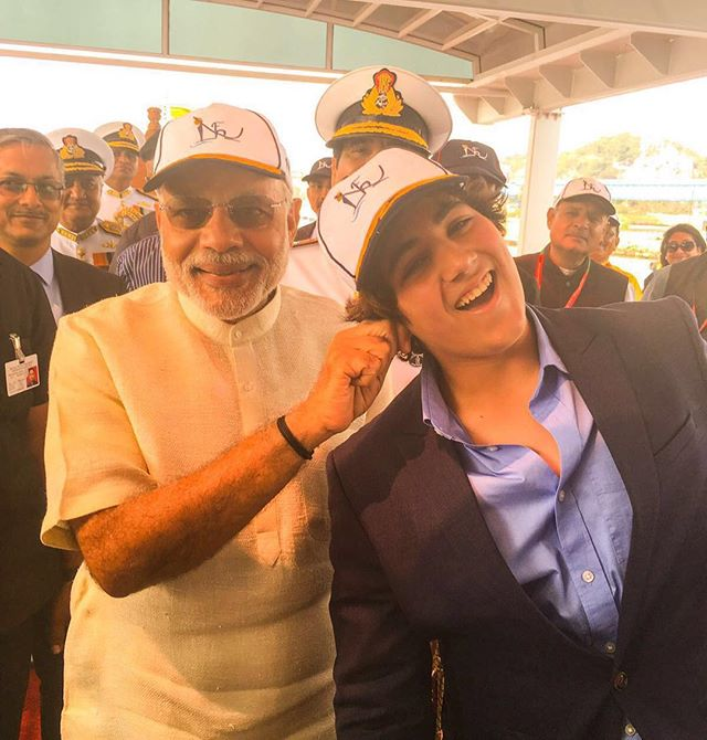 PM Narendra Modi Meets Akshay Kumar's Son! Pulls His Ears