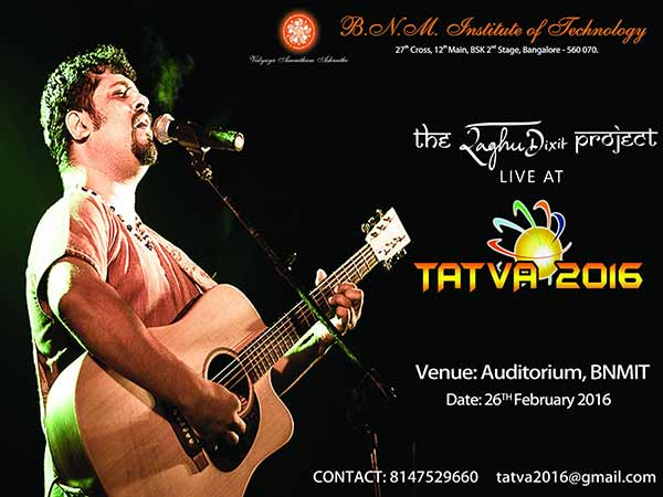 Book Your Tickets For Raghu Dixit Concert In Bangalore.. Call 8147529660/9482341141
