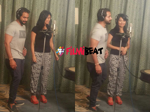 FIRST TIME EVER: Radhika Pandit Croons For 'Zoom' Along With Srimurali!