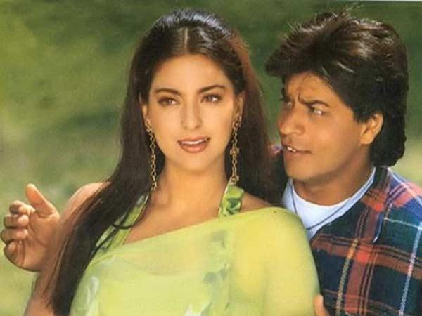 20 Flashback Pictures Of Shahrukh Khan, Juhi Chawla
