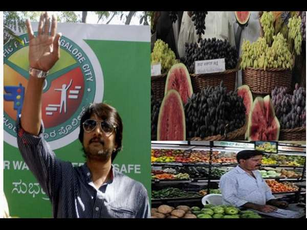 Sudeep Turns Brand Ambassador For Hopcoms; Supports Farmers!