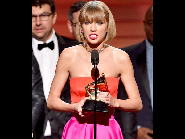 Whoa! Taylor Swift Disses Kanye West In her Grammys 2016 Award Acceptance Speech!