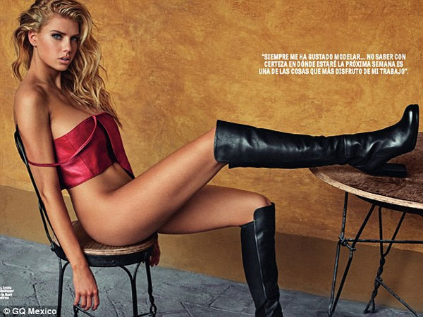 Charlotte McKinney Strips Down For A Magazine Shoot: Looks Smoking Hot!