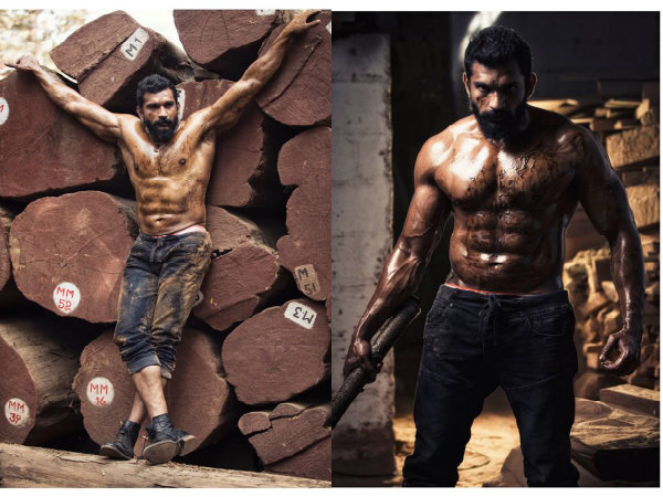 CHECK OUT: Villain Anil With 8 Packs For 'Maasthi Gudi'!