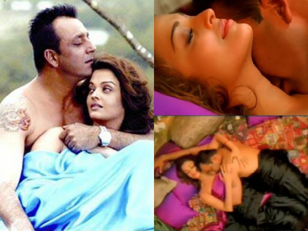 Sanjay Dutt Passionate Romance With Actresses