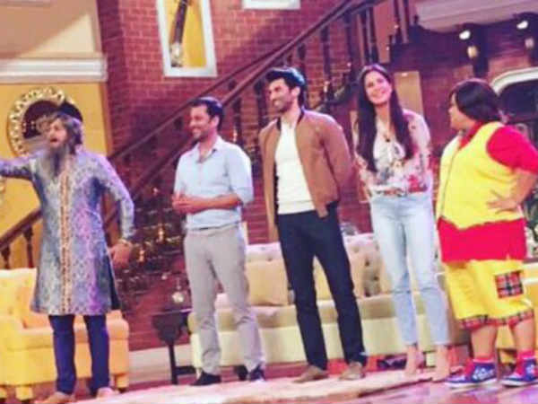 Guess Who Surprised Katrina Kaif On Comedy Nights Live!